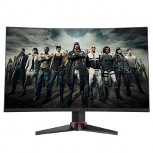 HKC G271F 144h显示器27英寸2K电竞曲面游戏高端1ms网吧家用护眼HDMI高清液晶DP超薄无边框G271Q电脑显示屏
